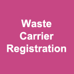 Waste Carrier Registration